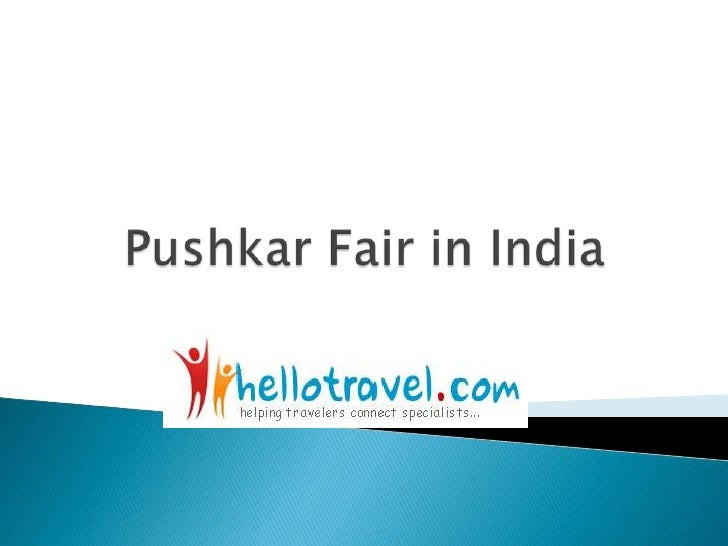 Pushkar Fair in India<br />