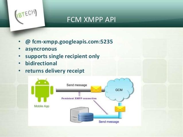 FCM XMPP Errors