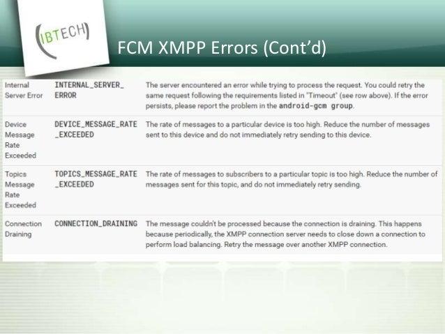 Apple Push Notification Service (APNs) • Legacy API ( TCP) • HTTP/2 API