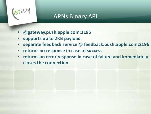 APNs Binary API Response Format