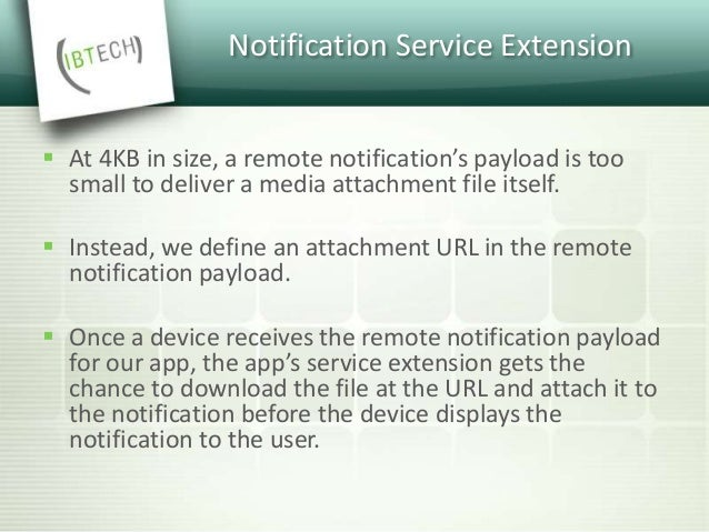 Notification Service Extension  Add a new target to your project