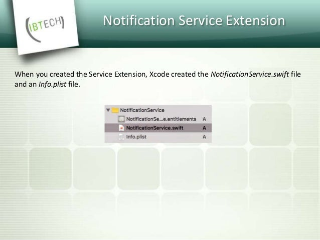 Notification Service Extension How does iOS know which notifications to intercept?