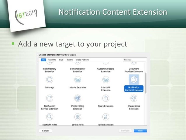 Notification Content Extension  How does the notification content extension work?
