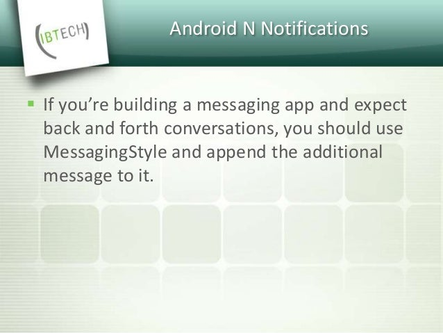 Messaging Style
