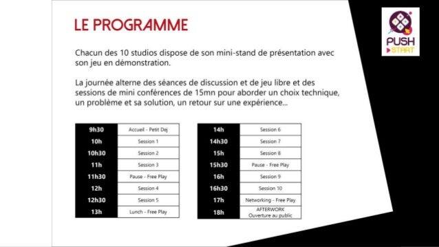 PUSH'IT #2 Mardi 28 Avril 2015 #PushStart Montpellier Métropole confirme la 6e édition du Montpellier In Game Dates: du 14...