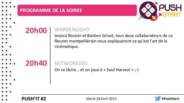 WARDENLIGHT Jessica Rossier et Bastien Grivet, tous deux collaborateurs de ce fleuron montpelliérain nous expliqueront ce ...