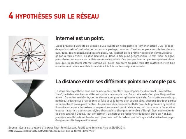 4 hypothèses sur le réseau Internet est un point. La distance entre ses différents points ne compte pas. L'idée provient d...