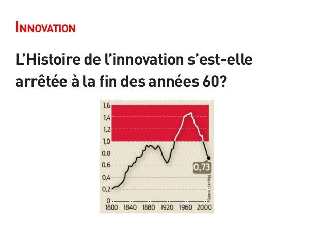 Innovation L'Histoire de l'innovation s'est-elle arrêtée à la fin des années 60?