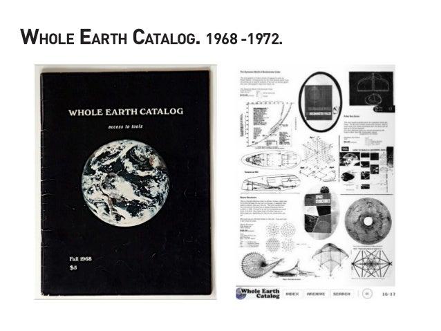 Whole Earth Catalog. 1968 -1972.