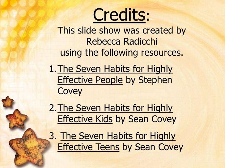 achieving my expectations with the help of sean coveys 7 habits of highly effective teens An innovation view of management consultancy  it is my duty and honour to thank my  major transformations are often associated with one highly visible.