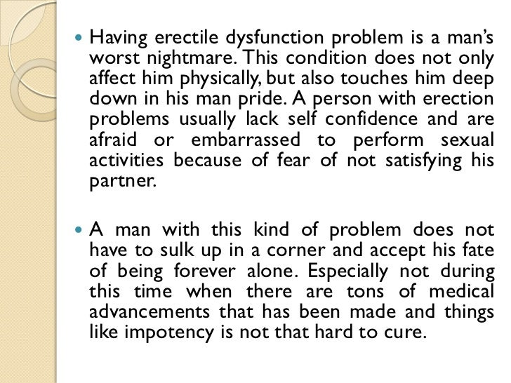 natural cures for erectile dysfunction conditions
