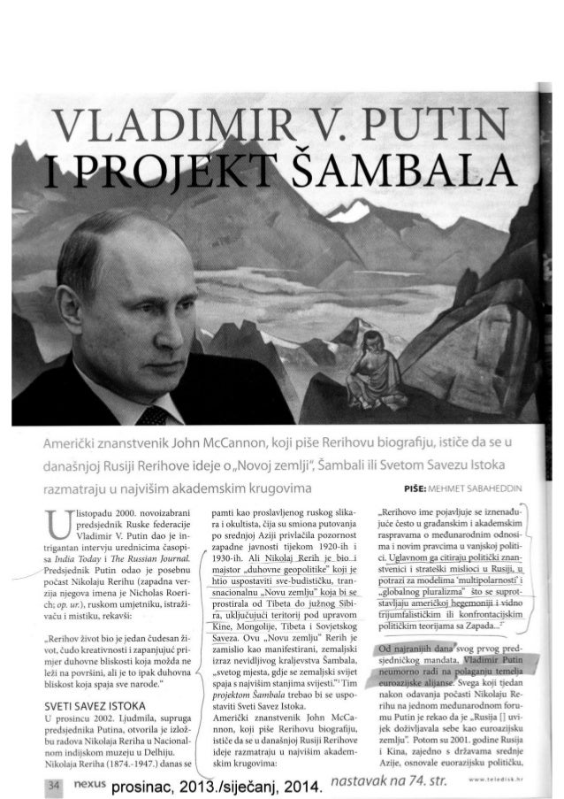 Putin, NWO i budistička svjetska država - Šambala