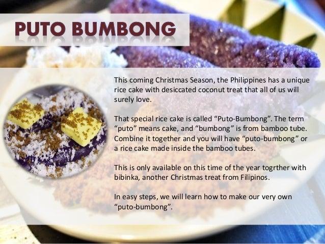 Puto bumbong cake recipe