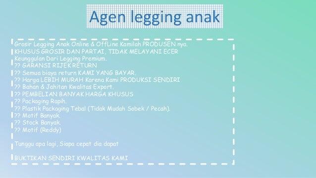 Diskon Wa 0852 9505 4661 Model Celana Legging Anak Perempuan