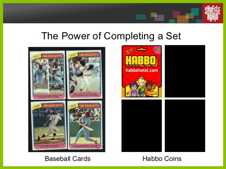 The Power of Completing a Set Baseball Cards Habbo Coins