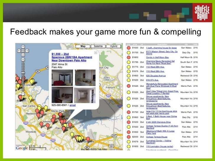 Feedback makes your game more fun & compelling