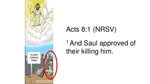 Saul's Conversion Acts 9:1-30