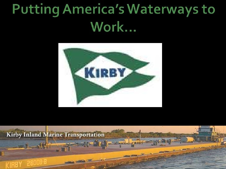 Putting America's Waterways to Work...<br />