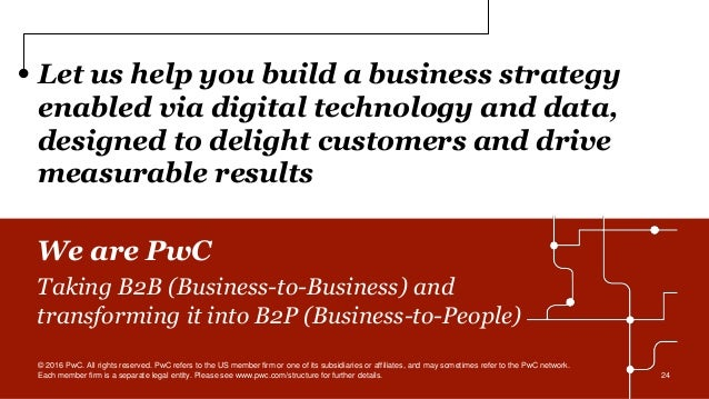 Let us help you build a business strategy enabled via digital technology and data, designed to delight customers and drive...