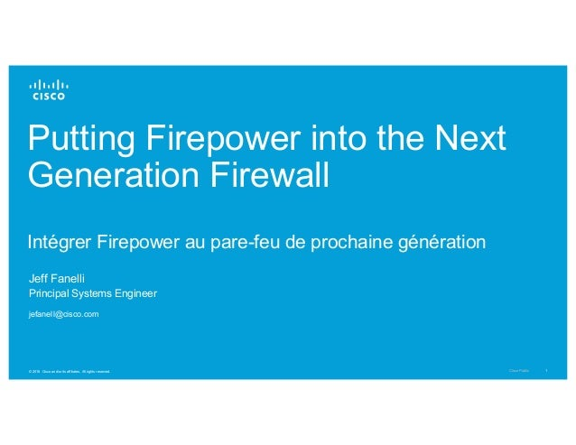 Putting firepower into the next generation firewall