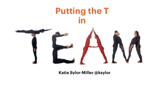 Putting the T in Katie Sylor-Miller @ksylor