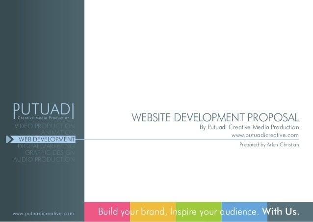 Putuadi Creative Web Development Proposal