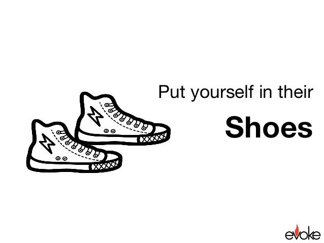 Put yourself in their shoes exercise