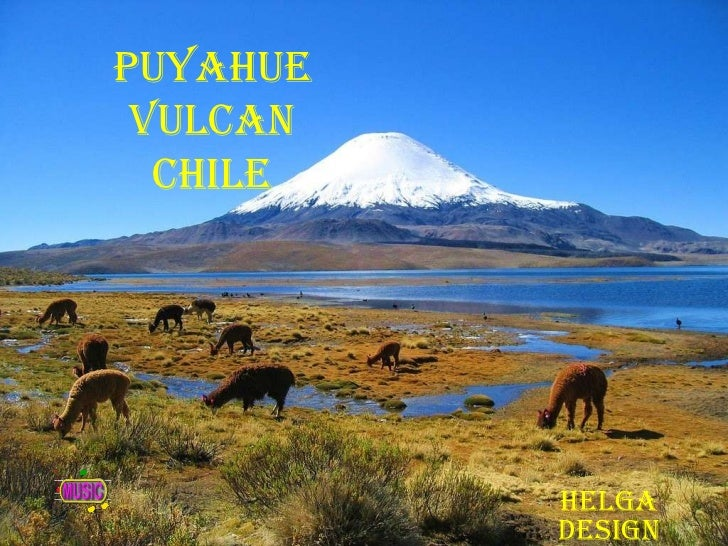 Puyahue VulcanChile<br />Helga design<br />