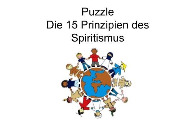 PuzzleDie 15 Prinzipien desSpiritismus