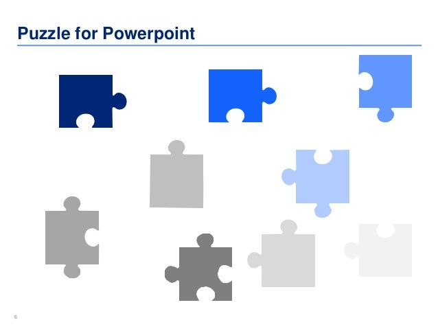 10 puzzle powerpoint templates by ex deloitte designers