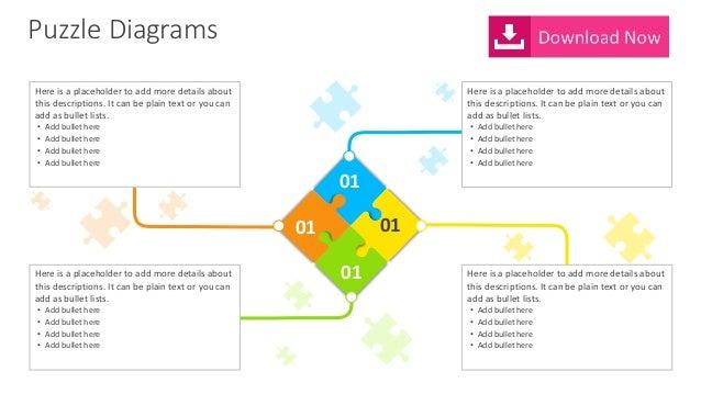 Puzzle diagram editable powerpoint template puzzle diagrams ccuart Image collections