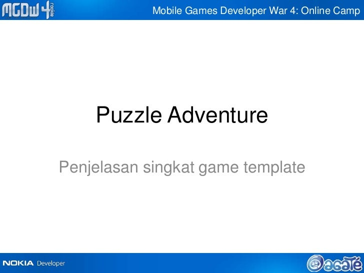 Mobile Games Developer War 4: Online Camp    Puzzle AdventurePenjelasan singkat game template