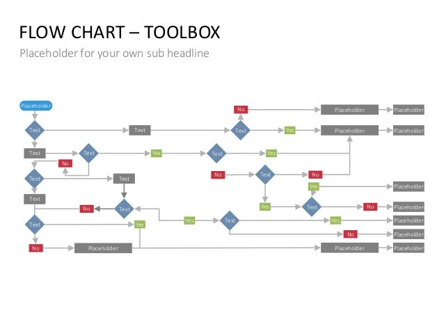 Flow Chart PPT Slide Template