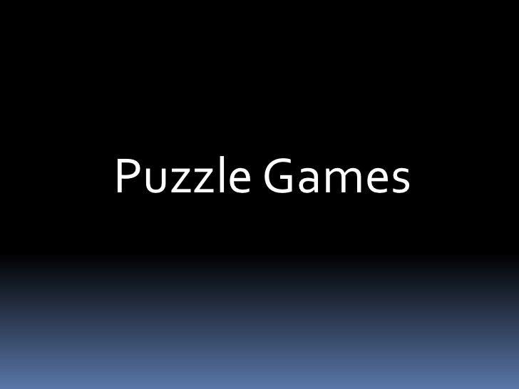 Puzzle Games<br />