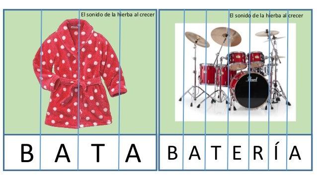 Puzzles con letras trabajo Slide 2