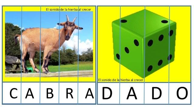 Puzzles con letras trabajo Slide 3