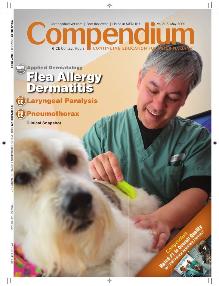 Compendium                     CompendiumVet.com | Peer Reviewed | Listed in MEDLINE   Vol 31(5) May 2009                 ...