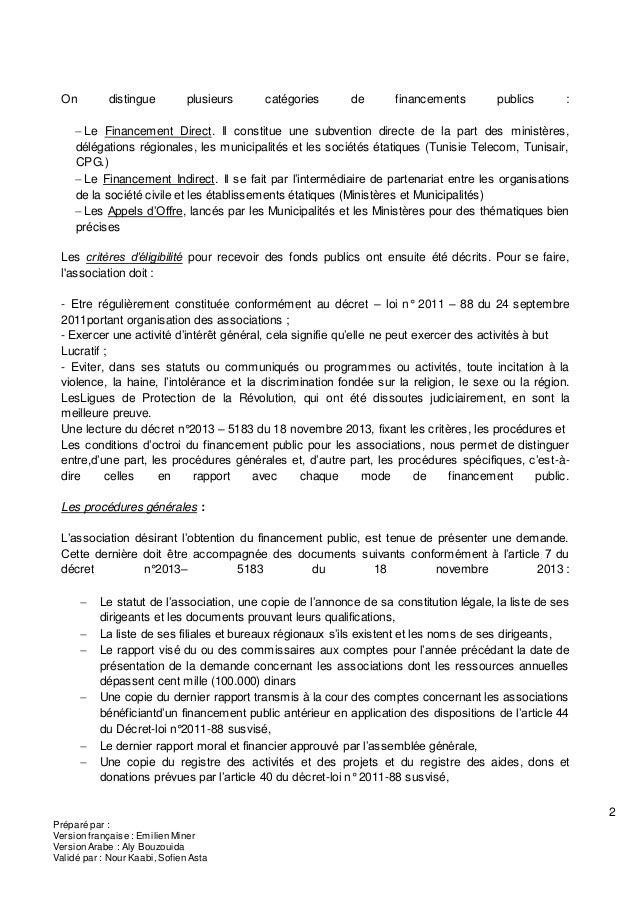 2 Préparé par : Version française : Emilien Miner Version Arabe : Aly Bouzouida Validé par : Nour Kaabi, Sofien Asta On di...
