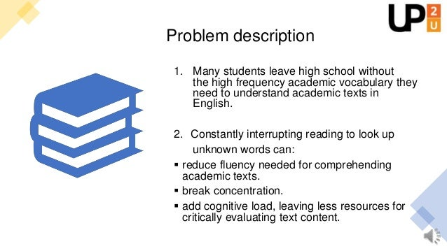 Towards solutions High-quality open educational resources for self-paced learning can help students close their vocabulary...