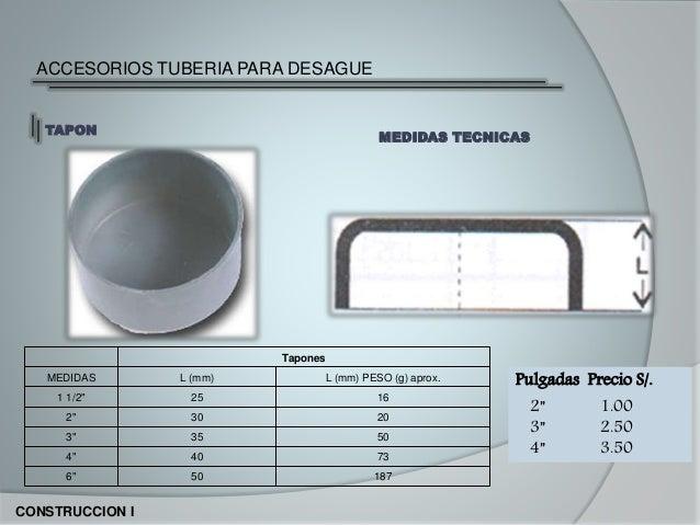 Pvc - Medidas de tubos de pvc ...