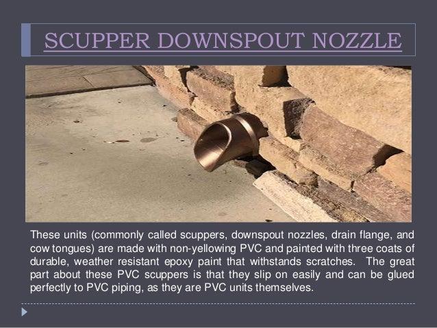 Pvc Downspout Nozzle