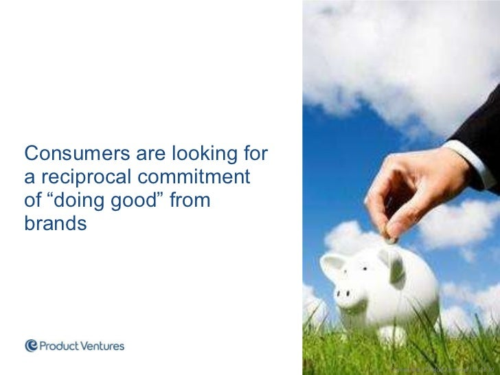 """<ul><li>Consumers are looking for a reciprocal commitment  of """"doing good"""" from brands </li></ul>Confidential 