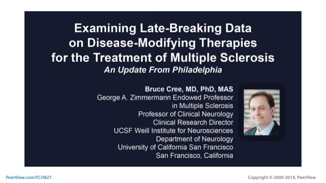 Examining Late-Breaking Data on Disease-Modifying Therapies for the T…