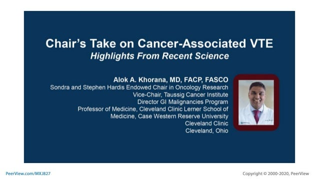 Teaming Up to Reduce the Burden of Cancer-Associated VTE: Applying the Latest Guidelines and Evidence in Gastrointestinal ...