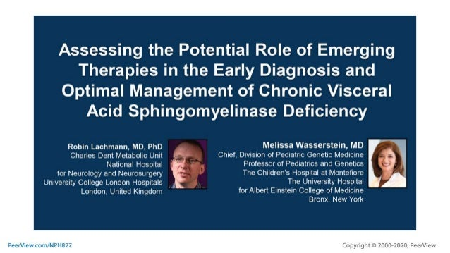 Assessing the Potential Role of Emerging Therapies in the Early Diagnosis and Optimal Management of Chronic Visceral Acid ...