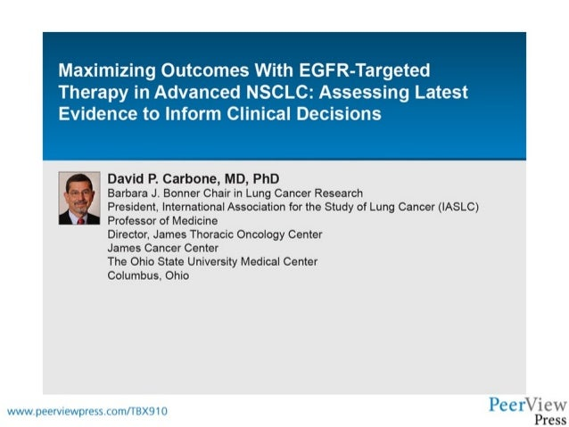 Maximizing Outcomes With EGFR-Targeted Therapy in Advanced NSCLC: Assessing Latest Evidence to Inform Clinical Decisions