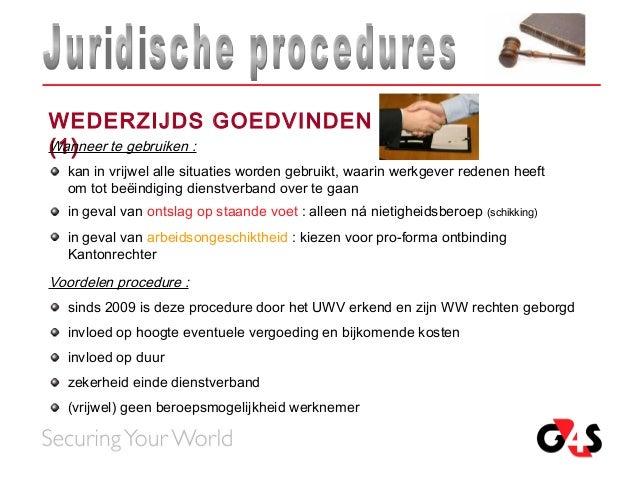 voorbeeld ontslagbrief wederzijds akkoord Pvo juridische procedures