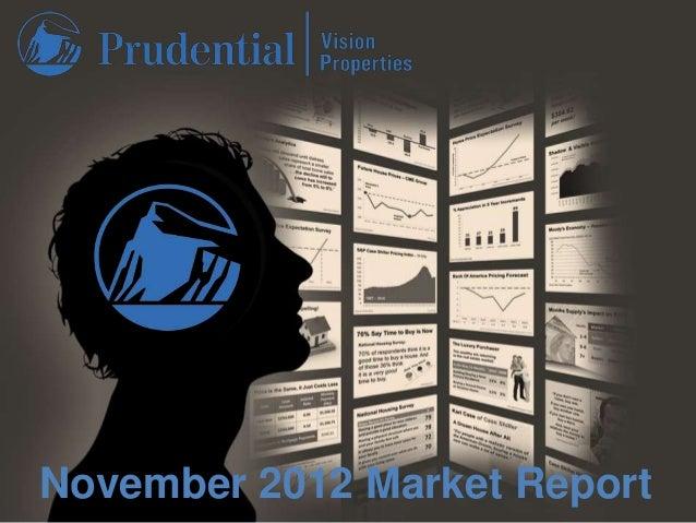 November 2012 Market Report