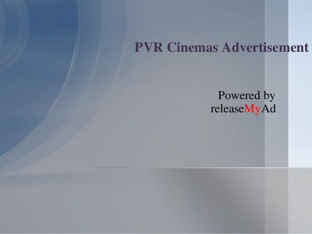 pvr cinemas case study pdf