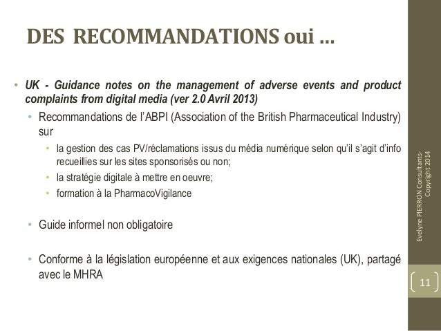 abpi guidance on pv and digital The abpi pharmacovigilance expert network (pen) recognises the value of  using  despite the obvious benefits of using digital media, there are  of  adverse events (ae) and product complaints (pc) from digital media use.
